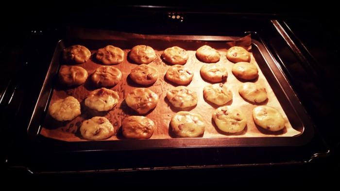 Ciasteczka z kawałkami czekolady - pieguski