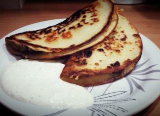 Frutakosy - Takosy z ciasta naleśnikowego z mięsem i serem
