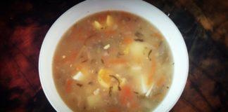 Zupa ogórkowa z jajkiem - Domowy przepis