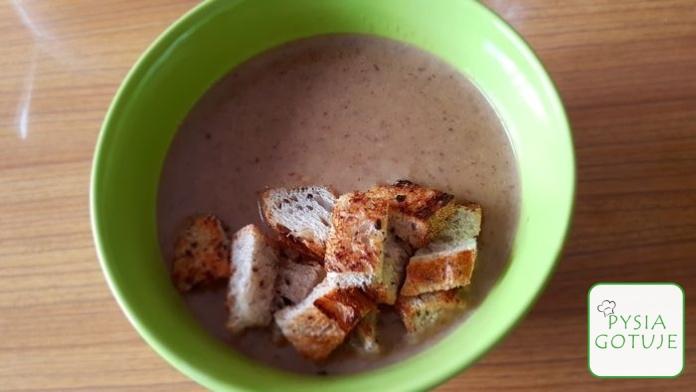 Zupa grzybowa krem - przepis