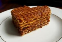 Przepis na ciasto waflowe bez pieczenia