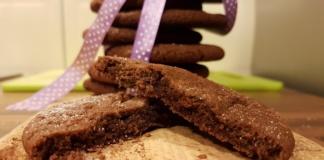 Przepis na ciasteczka czekoladowe brownie
