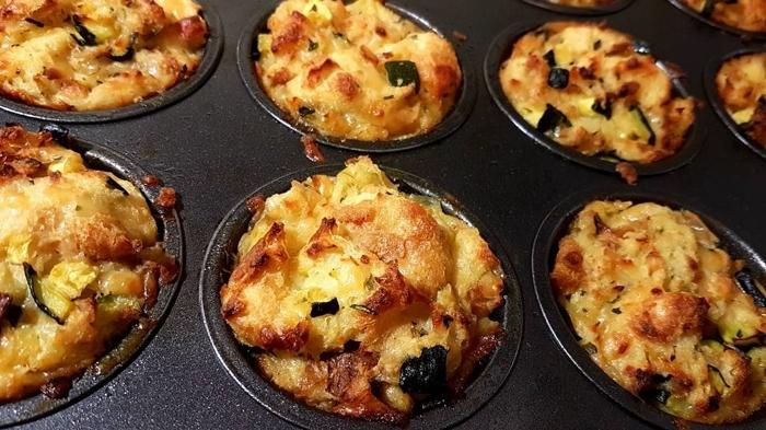 Muffinki wytrawne - kuchenny recykling