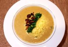 Przepis na zupę kurkową