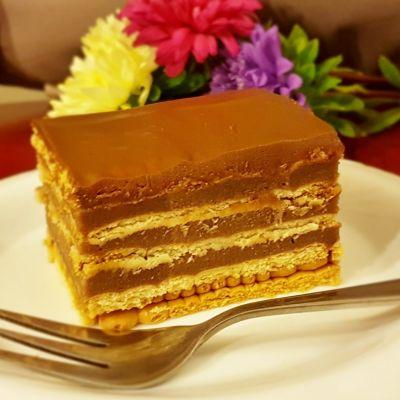 Ciasto na herbanikach bez pieczenia