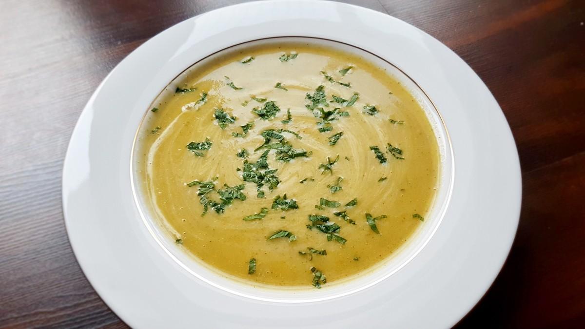 Zupa kalafiorowo-brokułowa krem