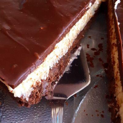 Bounty ciasto bez pieczenia
