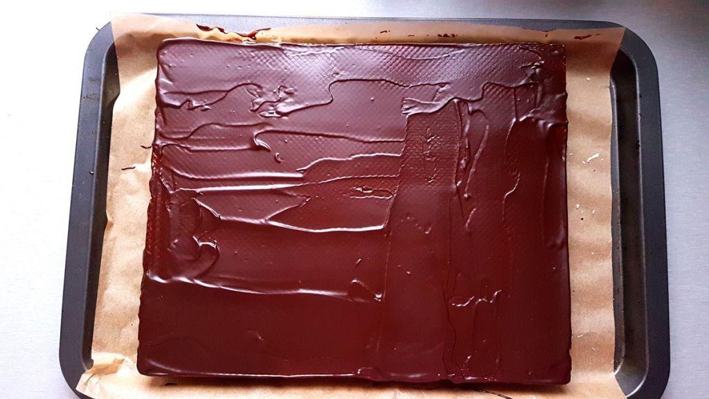 Ciasto knoppers czyli wafle przekładane