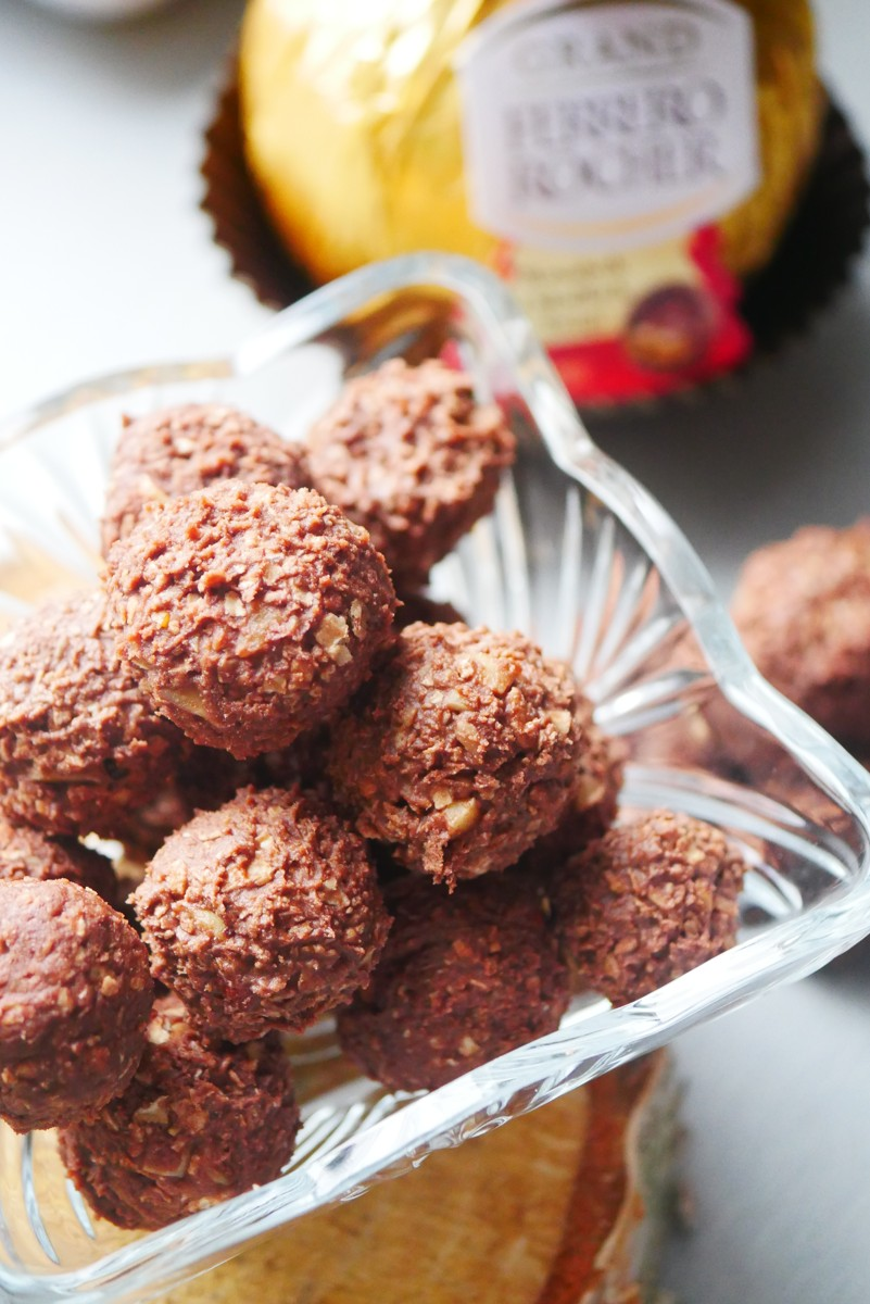 Domowe Ferrero Rocher czekoladki