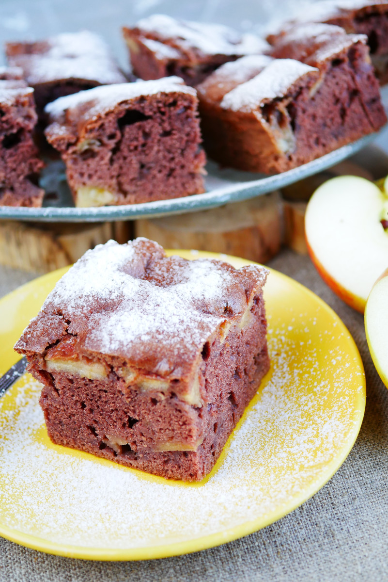 Ciasto z jabłkami salceson