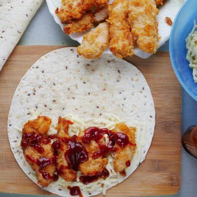 Quesadilla z kurczakiem czyli qurrito jak w KFC