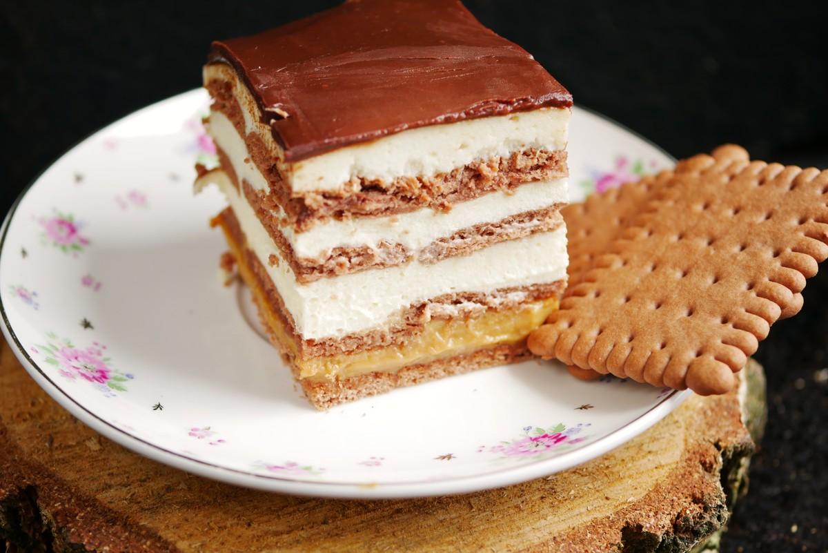 Ciasto 3 Bit Na Herbatnikach Bez Pieczenia Przepis Blog